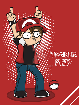 Trainer Red by Fenx07