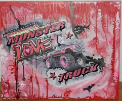 monsterlovetruck by leojulius