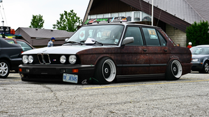Stance Rusty BMW by StanceHurts