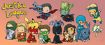 Justice League Pokemon by DeanGrayson