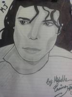 Micheal Jackson: Realistic Drawing by ANGELxBIRD