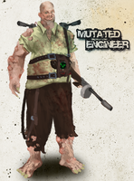 Mutated Engineer by 0Hayes