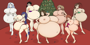A Very Pregnant Christmas by RiddleAugust