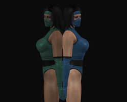 Kitana and Jade by dim1988