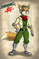 Fox McCloud +64 by RatchetJak