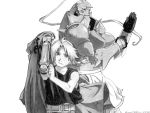 Edward and Alphonse - Brothers by happylilsquirrel