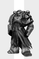 Black Templar sketch by maxew