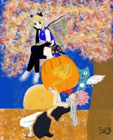 Halloween with Fairy tail by Furyi