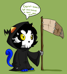 The Nyan Reaper by itsaaudra