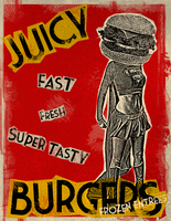 Juicy Burgers by sugarunicorn