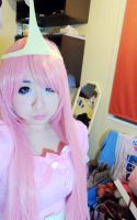 Princess Bubblegum cosplay ~Adventure time by TinaIsTaiwanese