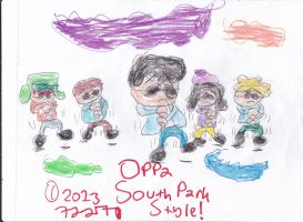 Oppa South Park Style by A-R-T-Q-U-E-E-N7227