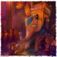 A Strange Parade: Detail by elbarien