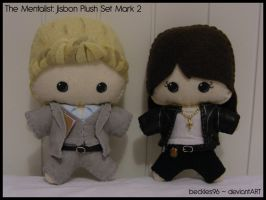 Mentalist: Jisbon Plush Set 2 by StitchedAlchemy