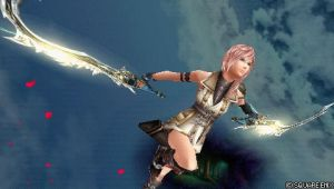 Dissidia Screen Shot- Lightning by Ghost-of-Shoichi