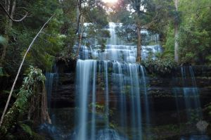 Tasmanian Waterfall #2 by ThatScalieThing