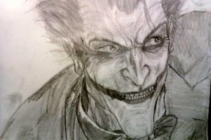 Arkham Joker by BloodGrin