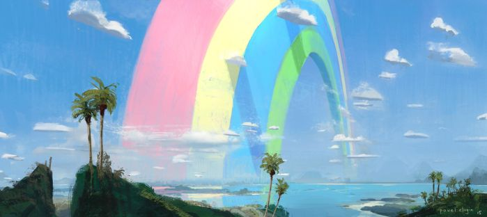 Rainbow by PavelElagin