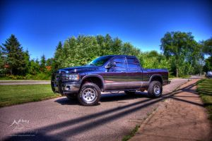 HDR Dodge Ram 2010 by Nebey