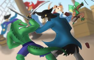 People Plunder (The Crossbone Chronicles) Part 3 by AxlReigns