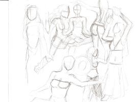 Gesture Drawing 5 by hunapo