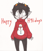 [S9 as t9 n9t trigger any9ne] Happy Holidays! by Vee-Vii