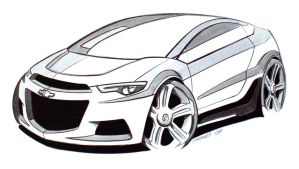 Chevy Coupe - Markers by cananea