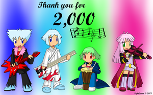 Thanks for 2000 hits by NightComet