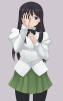 Hanako From Katawa Shoujo by 4hoursleep