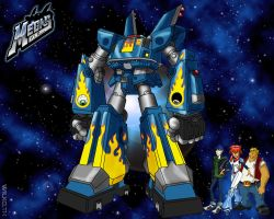 MEGAS XLR - Wallpaper by wilkowwc