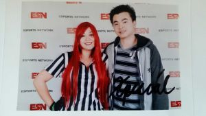 Red Card Katarina with Xpecial! by CaiteSith