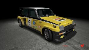 Renault 5 Turbo Europcar Race Car by OutcastOne