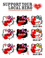SUPPORT YOUR LOCAL HERO - HK by ladysnowbloodz