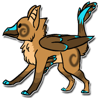 Adoptable gryphon thing 2 - SOLD by Kyobii