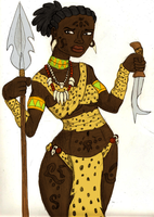 Ngunbere Colored by BrandonSPilcher