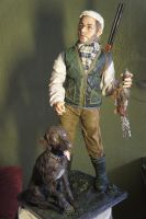 The Bird Hunter doll by MarylinFill
