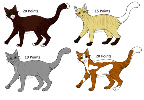 Adoptables 10-20 Points by Sleeping-Seven