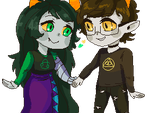 Sariah and Johnny by Corelle-Vairel