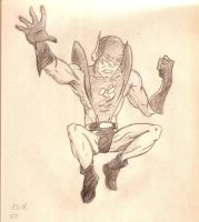 Yellowjacket Sketch by candlehat