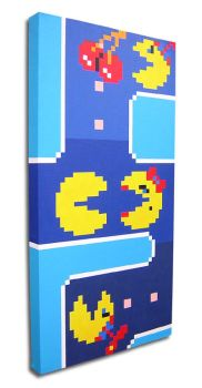 Pac-Man Family Portrait . side by arcade-art