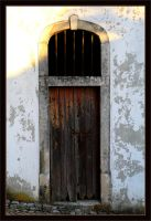 Porto de Mos Old Door by FilipaGrilo