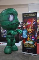 AFA 2012 - The green monster by CrystalViolet500
