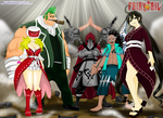 FAIRY TAIL 307 ~ Order of the Hungry Wolf by hallow1791