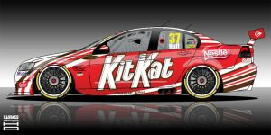 KitKat V8 Supecar by hanmer