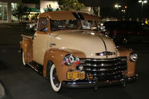 Chevy Hot Rod Low Rider Truck by OffDWallNotDRack