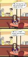 College Life: Dining Center by ZestySama