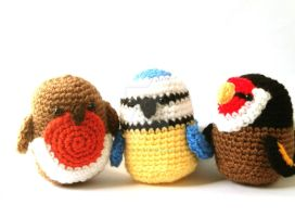 Crochet Patterns for Birds Amigurumi Pattern by MysteriousCats