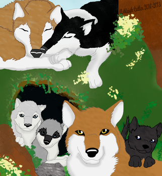 The Windwater Pack Promo Art 2 by AshWolf-Forever