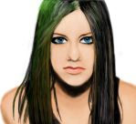 Avril Lavigne Again by irinthony