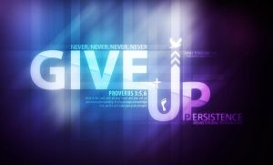 Never Give Up by fivepixel